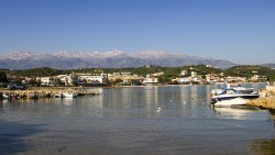 Almyrida fra havnen
